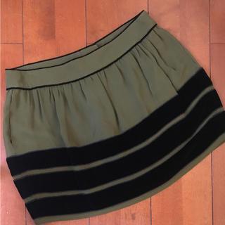 エディットフォールル(EDIT.FOR LULU)のエディットフォールル 購入 PHIシルクスカート 未使用(ミニスカート)