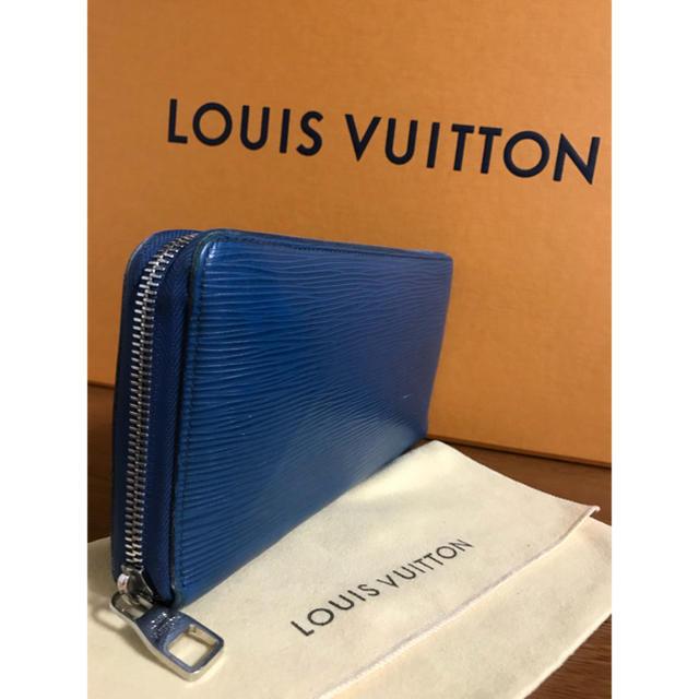 LOUIS VUITTON(ルイヴィトン)のLouisVitton ルイ ヴィトン 長財布 エピ ブルー オーガナイザー メンズ
