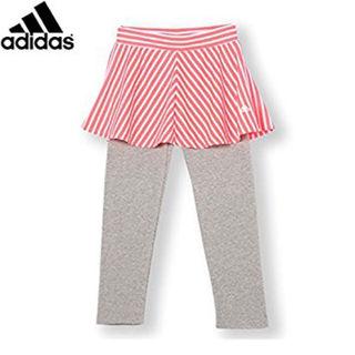 アディダス(adidas)のアディダス adidas レディース キッズ スカート レギンス 160(その他)