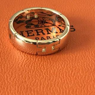 エルメス(Hermes)のエルメスリング18kイエローゴールド(リング(指輪))