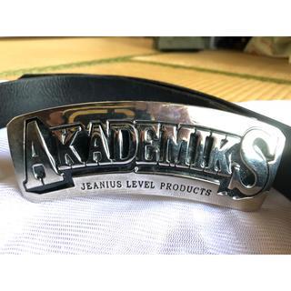アカデミクス(AKADEMIKS)のAKADEMIKSベルト(ベルト)