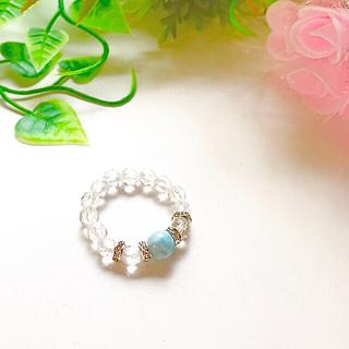 ラリマー 指輪(リング)