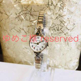 ウォルサム(Waltham)のアンティークウォッチ 名門 Waltham 手巻き3針 レディース アールデコ(腕時計)