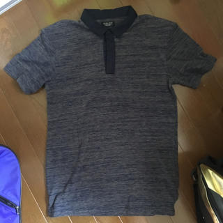 ザラ(ZARA)のZARA ポロシャツ メンズLサイズ(ポロシャツ)