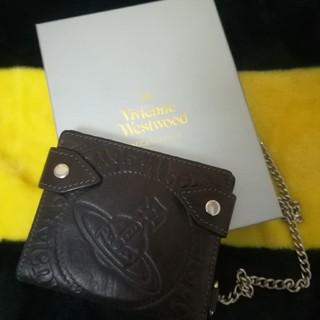ヴィヴィアンウエストウッド(Vivienne Westwood)の[期間限定出品6.16迄]ウォレットチェーン付折り財布(財布)