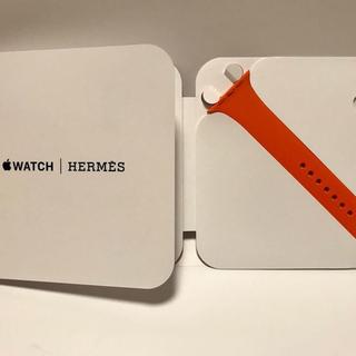 エルメス(Hermes)の【未使用】AppleWatch Hermès 42mm スポーツバンド(その他)
