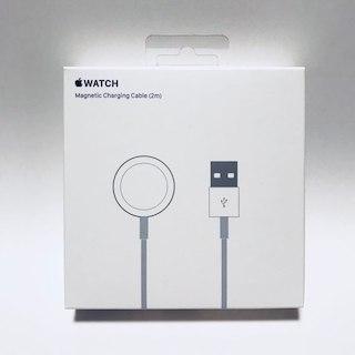 アップル(Apple)の【未開封】Apple Watch 磁気充電ケーブル(2m)(その他)