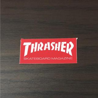 スラッシャー(THRASHER)の【縦1.9cm横4.1cm】THRASHER ステッカー(ステッカー)