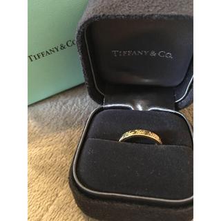 ティファニー(Tiffany & Co.)のティファニー 750 ノーツ リング k18(リング(指輪))