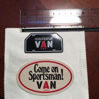 ヴァンヂャケット(VAN Jacket)のVANメタルステッカー&Come on Sportsmanステッカー(その他)