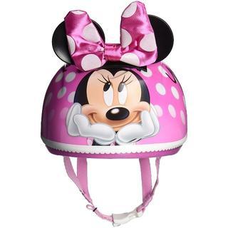 ディズニー(Disney)のりゅーかり様専用ディズニー ミニーマウス 3D ヘルメット キッズサイズ(ヘルメット/シールド)