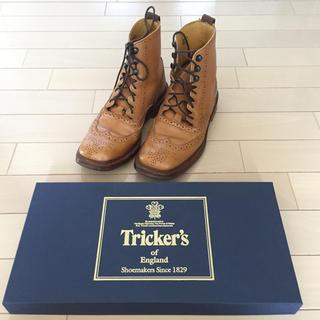トリッカーズ(Trickers)の美品 トリッカーズ ギリー ブーツ  カントリー 風 5 -4(ブーツ)