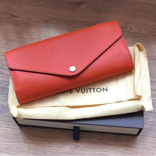 ルイヴィトン(LOUIS VUITTON)のヴィトン エピ 長財布 オレンジ 未使用☆(財布)