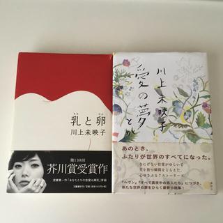 【2冊セット】川上未映子「乳と卵」&「愛の夢とか」(ハードカバー)(文学/小説)