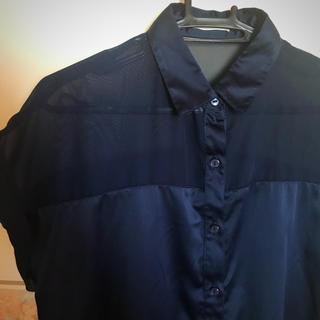 ジーユー(GU)の半袖ブラウス ◎ GU(シャツ/ブラウス(半袖/袖なし))