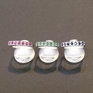値下げしました✨色石の指輪3つセット 18号(リング(指輪))