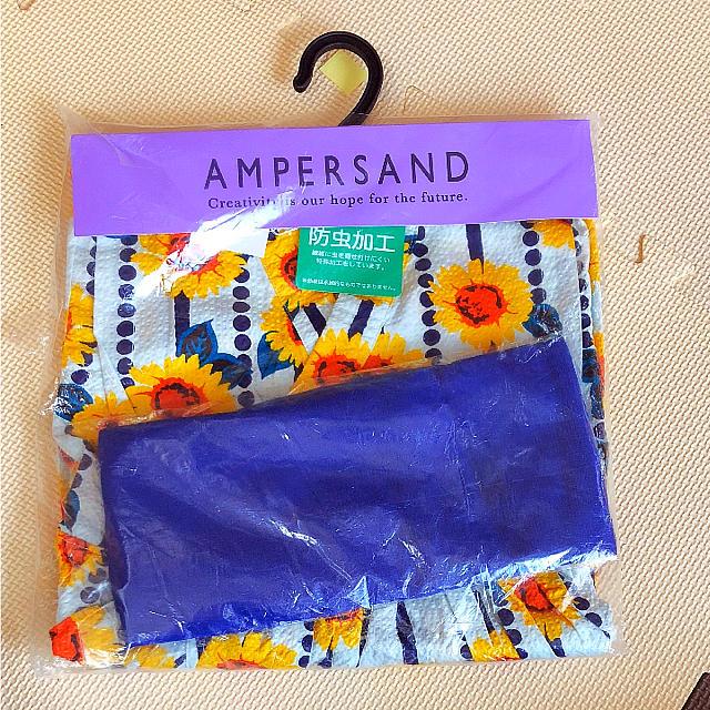 ampersand(アンパサンド)の新品 アンパサンド ワンピース 浴衣 キッズ/ベビー/マタニティのキッズ服 女の子用(90cm~)(甚平/浴衣)の商品写真