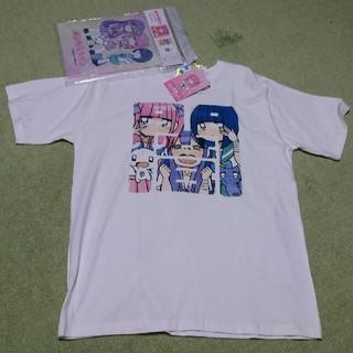 シマムラ(しまむら)の新品!未使用!メンヘラちゃん Tシャツ LL しまむら イラストプレート付き(Tシャツ/カットソー(半袖/袖なし))