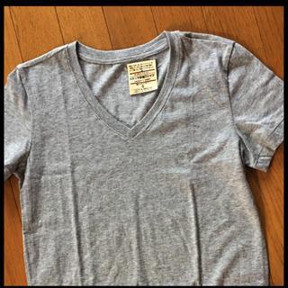 ムジルシリョウヒン(MUJI (無印良品))の無印オーガニックコットン VネックTシャツ(Tシャツ(半袖/袖なし))