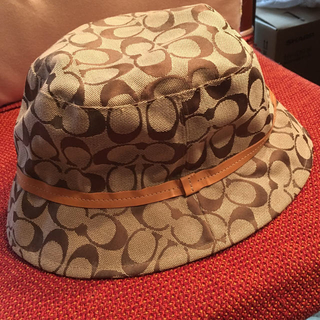 コーチ(COACH)の美品✳︎COACH  帽子  (ハット)
