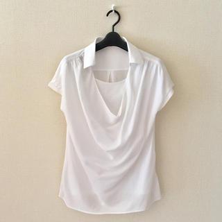 セブンアイディコンセプト(7-Idconcept.)の7-ID♡ドレーププルオーバーシャツ(シャツ/ブラウス(半袖/袖なし))