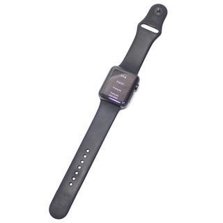 アップル(Apple)のD35 Apple Watch 第1世代 A1554 42mm スペースブラック(スマートフォン本体)