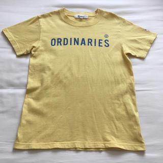 オールオーディナリーズ(ALL ORDINARIES)の半袖 Tシャツ ロゴ バックプリント (Tシャツ(半袖/袖なし))