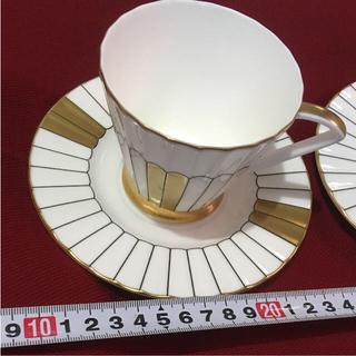 ニッコー(NIKKO)のどっぷり昭和な  HOYA カップ&ソーサー  ペア(グラス/カップ)