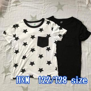 エイチアンドエム(H&M)の【USED】120〜130cm H&M Tシャツセット(Tシャツ/カットソー)