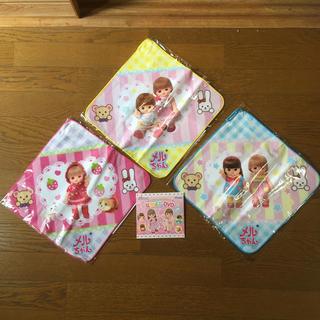パイロット(PILOT)のメルちゃん ループタオル3枚& DVD(タオル)