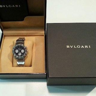 ブルガリ(BVLGARI)のブルガリブルガリ クロノグラフ 自動巻き時計(その他)