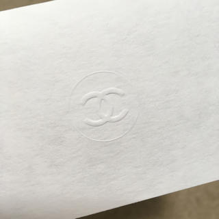 シャネル(CHANEL)の★値下げ★CHANEL メッセージカード(カード/レター/ラッピング)