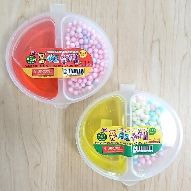 韓国 スライム 2個セット ハンドメイドの生活雑貨(雑貨)の商品写真