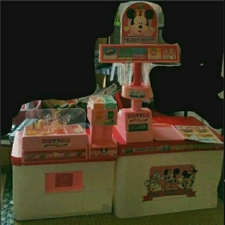 ディズニー(Disney)の激レア 当時物Disneyミッキーマウスのハンバーガーショップ マクド モス♡ (知育玩具)