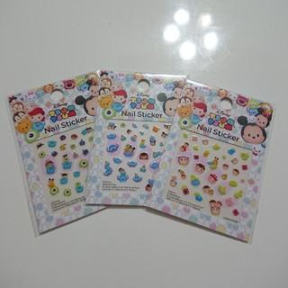 ディズニー(Disney)の【新品】ディズニーツムツム ネイルシール ①(ネイル用品)