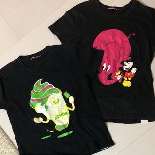 アトモスガールズ(atmos girls)のアトモスガールズ  黒 Tシャツ セット(Tシャツ(半袖/袖なし))