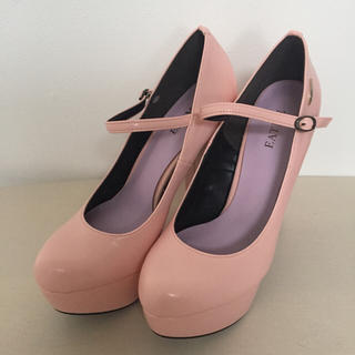 イートミー(EATME)のEATME イートミー パンプス ピンク パステル ヒール 靴 益若つばさ(ハイヒール/パンプス)