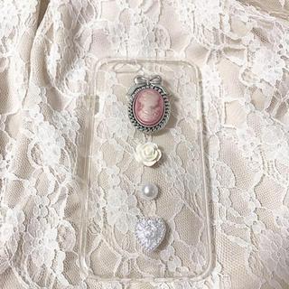 ピンクカメオiPhonecase(スマホケース)