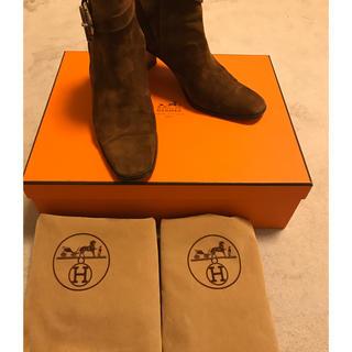 エルメス(Hermes)の定価25万エルメスブーツ 特別価格!!!!!(ブーツ)