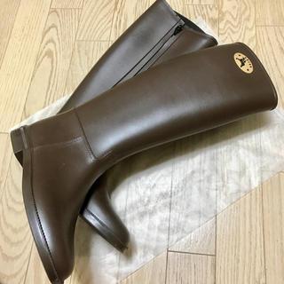 ダフナ(Dafna)の美品 ダフナ レインブーツ ジッパー(レインブーツ/長靴)