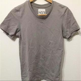 ジュンメン(JUNMEN)のTシャツ グレー ジュン NO3(Tシャツ/カットソー(半袖/袖なし))
