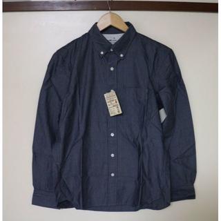 ムジルシリョウヒン(MUJI (無印良品))の無印良品 ストライプボタンダウンシャツ(シャツ)