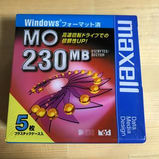 マクセル(maxell)のmaxell  MO ディスク5枚(PC周辺機器)