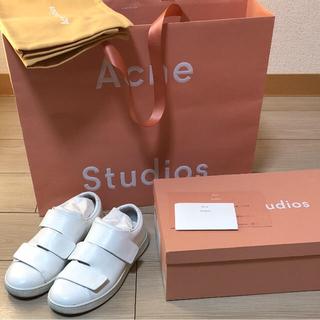 アクネ(ACNE)のacne studios Triple 37 アクネ ベルクロスニーカー 完売(スニーカー)