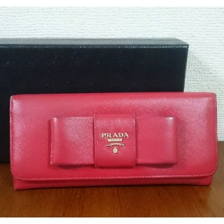 プラダ(PRADA)のPRADA サフィアーノ 長財布(財布)