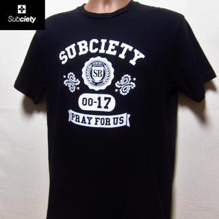 サブサエティ(Subciety)のサブサエティ◆ブラックTEE (Tシャツ/カットソー(半袖/袖なし))