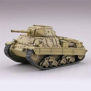 海洋堂カプセルQ ワールドタンクデフォルメ4P40重戦車イエロー(その他)