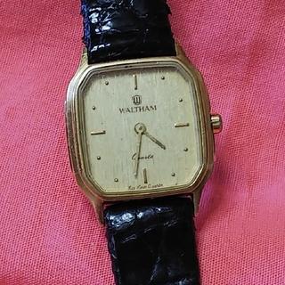ウォルサム(Waltham)のWALTHAM腕時計(電池&ベルト交換済み)(腕時計)