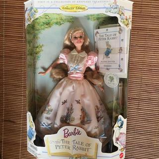 バービー(Barbie)の今週末までのセールです。Barbie ピーターラビット コラボ(ぬいぐるみ/人形)