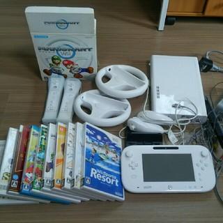Wii U - Wii U 全てセットで送料込み(沖縄着以外)
